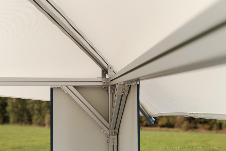stabiler Design-Pavillon   HANNO-Zelte